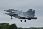 nobu2000さんが、フェアフォード空軍基地で撮影したスウェーデン空軍 JAS39Cの航空フォト(写真)