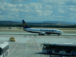 kiyohsさんが、マドリード・バラハス国際空港で撮影したライアンエア 737-8ASの航空フォト(飛行機 写真・画像)