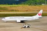 ちっとろむさんが、新石垣空港で撮影した日本トランスオーシャン航空 737-446の航空フォト(写真)