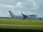 kiyohsさんが、アムステルダム・スキポール国際空港で撮影したイラン航空 A330-243の航空フォト(飛行機 写真・画像)