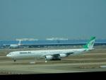 kiyohsさんが、上海浦東国際空港で撮影したマーハーン航空 A340-642の航空フォト(飛行機 写真・画像)