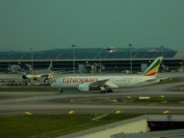 kiyohsさんが、クアラルンプール国際空港で撮影したエチオピア航空 787-8 Dreamlinerの航空フォト(飛行機 写真・画像)