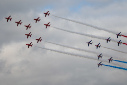 チャッピー・シミズさんが、フェアフォード空軍基地で撮影したフランス空軍 Alpha Jet Eの航空フォト(飛行機 写真・画像)