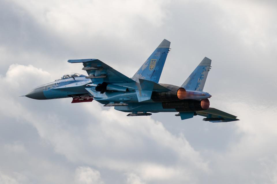 ウクライナ 航空 ショー