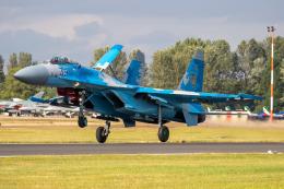 チャッピー・シミズさんが、フェアフォード空軍基地で撮影したウクライナ空軍 Su-27Pの航空フォト(飛行機 写真・画像)