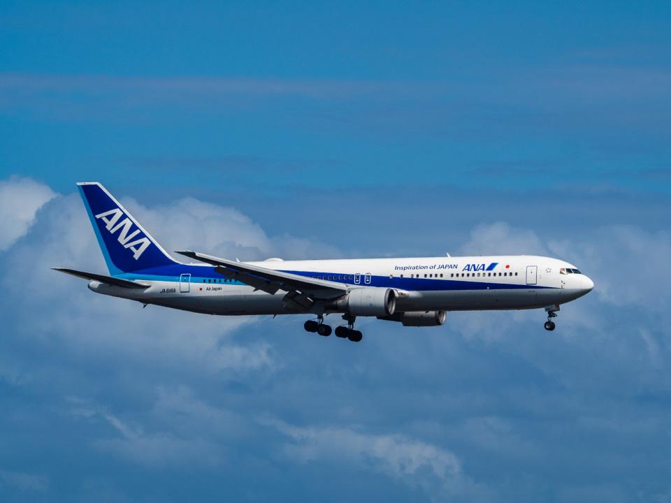 名無しの権兵衛さんの全日空 Boeing 767-300 (JA616A) 航空フォト