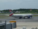 kiyohsさんが、成田国際空港で撮影したブリティッシュ・エアウェイズ 777-336/ERの航空フォト(飛行機 写真・画像)