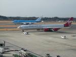 kiyohsさんが、成田国際空港で撮影したヴァージン・アトランティック航空 A340-642の航空フォト(飛行機 写真・画像)