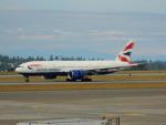 kiyohsさんが、シアトル タコマ国際空港で撮影したブリティッシュ・エアウェイズ 777-236/ERの航空フォト(飛行機 写真・画像)