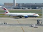 kiyohsさんが、羽田空港で撮影したブリティッシュ・エアウェイズ 777-236/ERの航空フォト(飛行機 写真・画像)