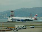 kiyohsさんが、香港国際空港で撮影したブリティッシュ・エアウェイズ 777-236/ERの航空フォト(飛行機 写真・画像)