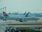 kiyohsさんが、上海浦東国際空港で撮影したスイスインターナショナルエアラインズ A340-313Xの航空フォト(飛行機 写真・画像)
