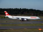 kiyohsさんが、成田国際空港で撮影したスイスインターナショナルエアラインズ A340-313Xの航空フォト(飛行機 写真・画像)