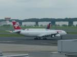 kiyohsさんが、成田国際空港で撮影したスイスインターナショナルエアラインズ A340-313Xの航空フォト(写真)