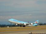 kiyohsさんが、シアトル タコマ国際空港で撮影した大韓航空 747-8B5F/SCDの航空フォト(飛行機 写真・画像)