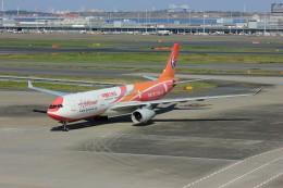 メンチカツさんが、羽田空港で撮影した中国東方航空 A330-343Xの航空フォト(飛行機 写真・画像)