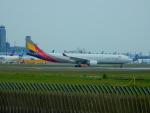 kiyohsさんが、成田国際空港で撮影したアシアナ航空 A330-323Xの航空フォト(写真)