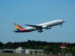 kiyohsさんが、成田国際空港で撮影したアシアナ航空 777-28E/ERの航空フォト(写真)