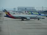 kiyohsさんが、関西国際空港で撮影したアシアナ航空 777-28E/ERの航空フォト(写真)
