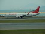 kiyohsさんが、香港国際空港で撮影したイースター航空 737-808の航空フォト(飛行機 写真・画像)