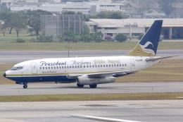 Hariboさんが、ドンムアン空港で撮影したプレジデント・エアラインズ 737-2K3/Advの航空フォト(飛行機 写真・画像)
