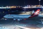 FRTさんが、羽田空港で撮影したカンタス航空 747-438/ERの航空フォト(飛行機 写真・画像)