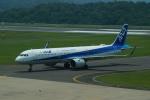 FRTさんが、石見空港で撮影した全日空 A321-272Nの航空フォト(飛行機 写真・画像)