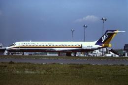 tassさんが、羽田空港で撮影した日本エアシステム MD-87 (DC-9-87)の航空フォト(飛行機 写真・画像)