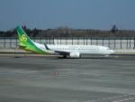 kiyohsさんが、成田国際空港で撮影した春秋航空日本 737-81Dの航空フォト(飛行機 写真・画像)