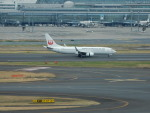 kiyohsさんが、羽田空港で撮影した日本トランスオーシャン航空 737-8Q3の航空フォト(飛行機 写真・画像)