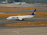 kiyohsさんが、羽田空港で撮影したスカイマーク 737-82Yの航空フォト(飛行機 写真・画像)