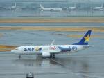 kiyohsさんが、羽田空港で撮影したスカイマーク 737-86Nの航空フォト(飛行機 写真・画像)