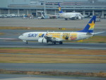 kiyohsさんが、羽田空港で撮影したスカイマーク 737-8FHの航空フォト(飛行機 写真・画像)