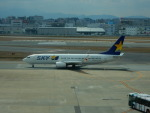 kiyohsさんが、福岡空港で撮影したスカイマーク 737-86Nの航空フォト(飛行機 写真・画像)