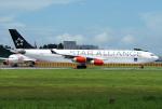 Mar Changさんが、成田国際空港で撮影したスカンジナビア航空 A340-313Xの航空フォト(写真)