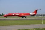 北の熊さんが、新千歳空港で撮影したエア・フィリップ ERJ-145LRの航空フォト(飛行機 写真・画像)