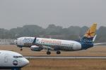 GNPさんが、デュッセルドルフ国際空港で撮影したサンエクスプレス・ジャーマニー 737-8HXの航空フォト(写真)