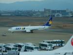 kiyohsさんが、福岡空港で撮影したスカイマーク 737-8FZの航空フォト(飛行機 写真・画像)