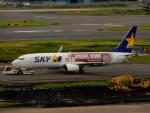 kiyohsさんが、羽田空港で撮影したスカイマーク 737-8ALの航空フォト(飛行機 写真・画像)