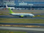 kiyohsさんが、羽田空港で撮影したソラシド エア 737-81Dの航空フォト(飛行機 写真・画像)