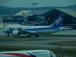 kiyohsさんが、クアラルンプール国際空港で撮影した全日空 787-8 Dreamlinerの航空フォト(飛行機 写真・画像)