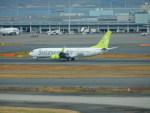 kiyohsさんが、羽田空港で撮影したソラシド エア 737-86Nの航空フォト(飛行機 写真・画像)