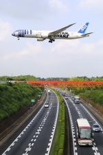 トリトンブルーSHIROさんが、成田国際空港で撮影した全日空 787-9の航空フォト(飛行機 写真・画像)