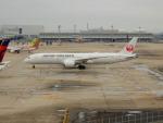 kiyohsさんが、関西国際空港で撮影した日本航空 787-9の航空フォト(飛行機 写真・画像)