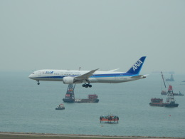 kiyohsさんが、香港国際空港で撮影した全日空 787-9の航空フォト(飛行機 写真・画像)