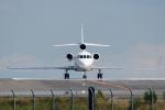 kuraykiさんが、羽田空港で撮影したBANK OF UTAH TRUSTEE Falcon 900EXの航空フォト(写真)