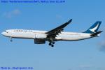 Chofu Spotter Ariaさんが、成田国際空港で撮影したキャセイパシフィック航空 A330-342の航空フォト(写真)
