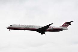 kuro2059さんが、台湾桃園国際空港で撮影した遠東航空 MD-82 (DC-9-82)の航空フォト(飛行機 写真・画像)