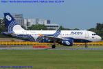 Chofu Spotter Ariaさんが、成田国際空港で撮影したオーロラ A319-111の航空フォト(飛行機 写真・画像)