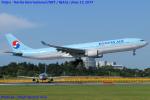 Chofu Spotter Ariaさんが、成田国際空港で撮影した大韓航空 A330-322の航空フォト(飛行機 写真・画像)